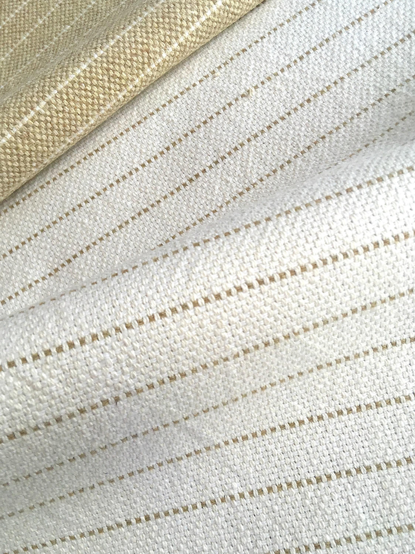 10 yards blanc lin bande tissu d'ameublement d'ameublement d'ameublement / Home Decor tissu / soutenu des tissus d'ameublement / bande de toile à matelas en lin / Lin de poids lourd fef08a