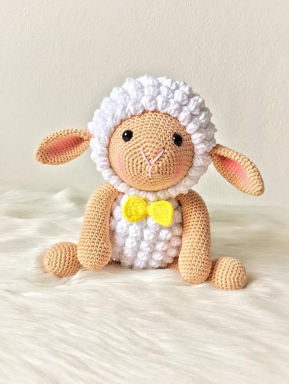 Crochet Lovely Sheep Amigurumi - Crochet Ideas | 758x570