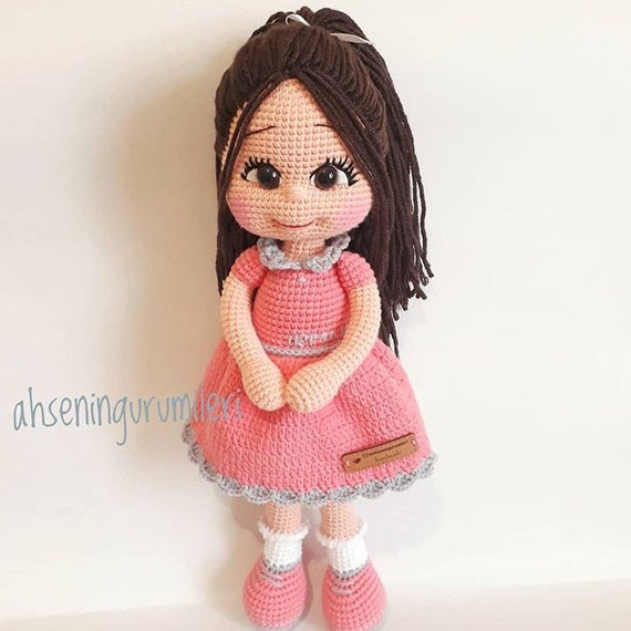 PATTERN Crochet Sarahi Doll PATTERN Crochet Doll Pattern Tannias ... | 570x570