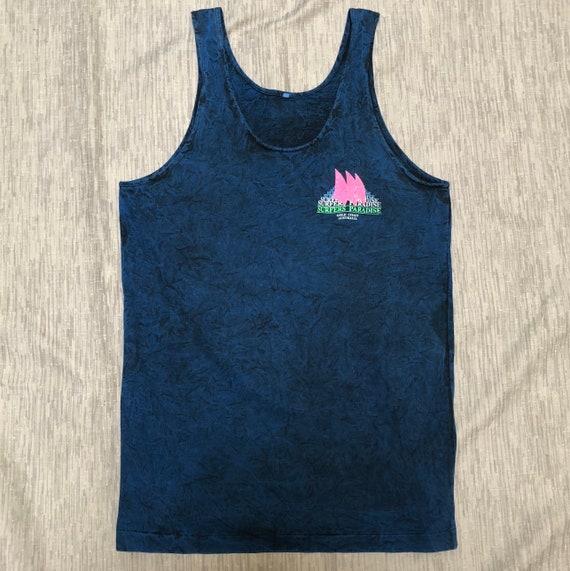 Surfers Paradise Australia Vest Print Men Gold Coast Singlet Sleeveless Tank PP110