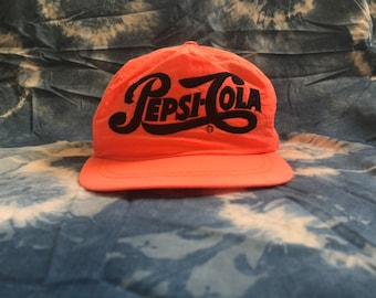 27337f4bcd8 80s pepsi cola snap back