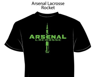 04149d333 Arsenal Lacrosse - Short Sleeve - Rocket Design