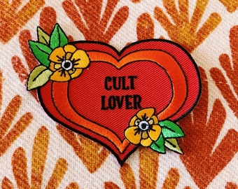 Cult Lover Iron-on Patch