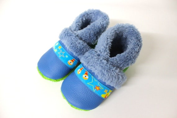 Padded crawler shoes baby shoes lined