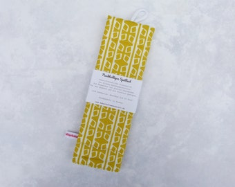 """Rinse cloth, cleaning cloth, rinsing cloth, sustainable, reusable, zero waste, zero waste """"pattern on yellow"""" - Sustainable"""