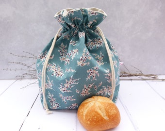 Bread bag, bread basket or bread bag, bread basket, baked goods bag 3 in 1 / twigs