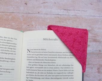 Zero waste bookmark / corner bookmark / book corner / Happy corner bookmark / gift