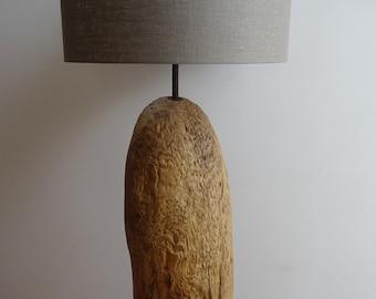 Luminaire / lamp / floor lamp made of wood, handmade