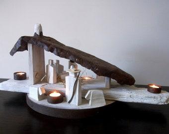 Crib / wooden crib / floating crib / hanging crib / handmade