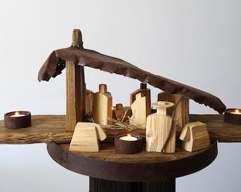 crib / wooden crib / floating crib / hanging crib / natural crib