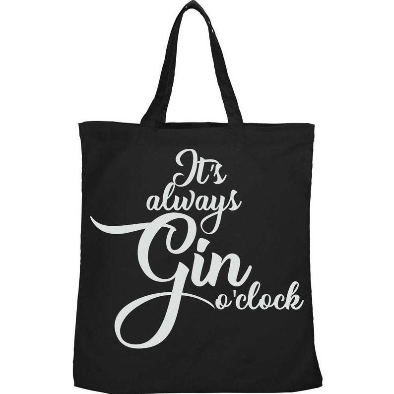 gift secret santa cute Tumblr birthday Kawaii It/'s Always Gin O/'Clock Eco pintrest environmental Free UK Shipping Etsy