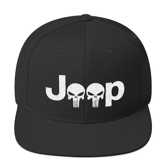 2cbd5e82c98 Jeep Punisher Snapback Hat