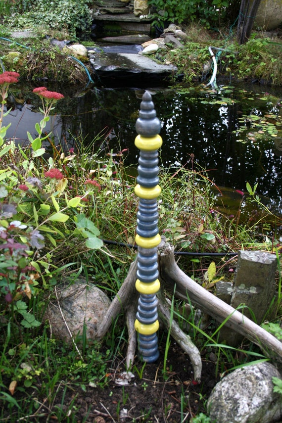 Small Stele For Perennials Or Planting Trough Etsy