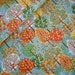 Rachel Guaraldi reviewed Makower patchwork fabric, cotton fabric, FOREST, autumn, tree, forest, autumn, foliage coloring