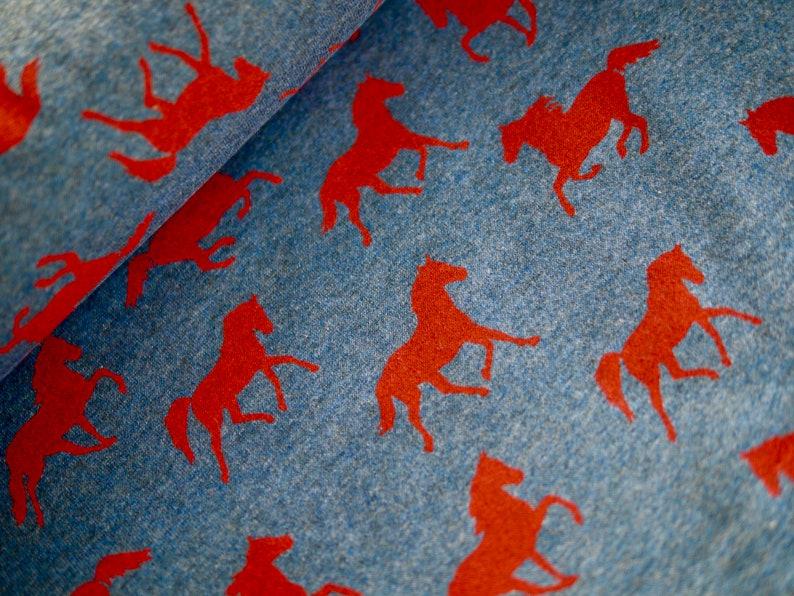 Sweatshirt fabric fabric sweat sweaty BW blend quality image 0