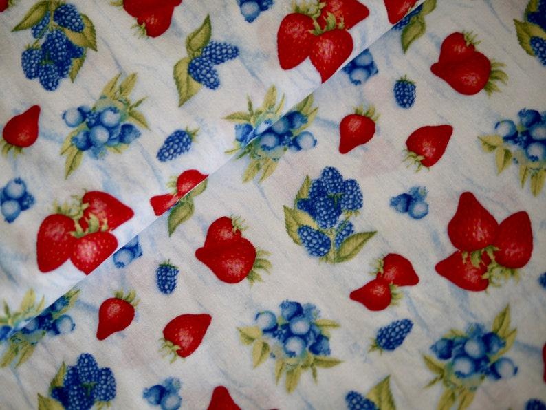 Wilmington patchwork fabric BERRY SWEET berries fruit image 0