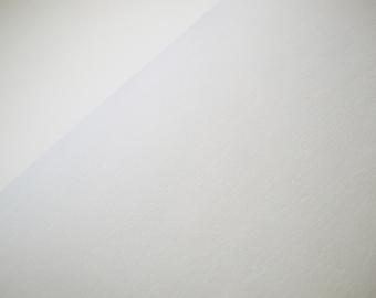 solid white cuff, cuff knit, fine rib cuffs, uni white