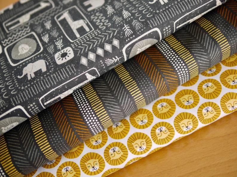 MODA Fabric Pack Patchwork Fabric Safari Life Africa image 0