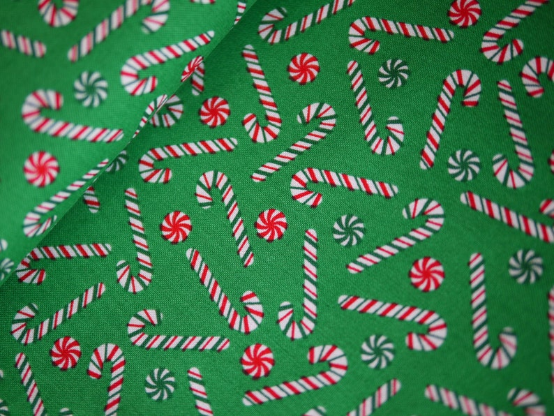 Windham patchwork fabric Christmas fabric candy bar sweets image 0