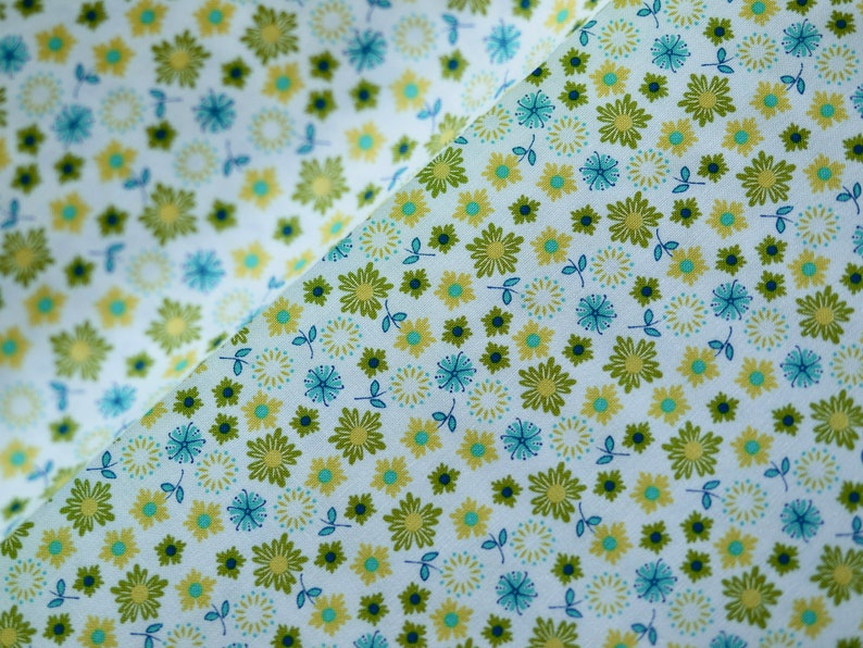 MODA patchwork fabric cotton fabric flowers floral floral image 0