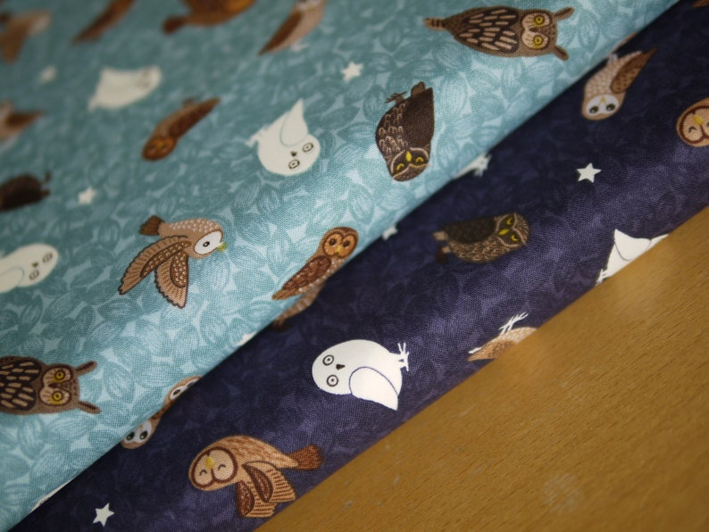 Lewis & Irene Patchwork Fabric Cotton Fabric NIGHTTIME in image 0