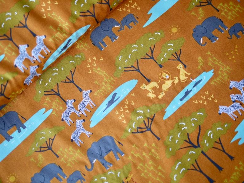 MODA patchwork fabric Safari Life Africa Savannah image 0