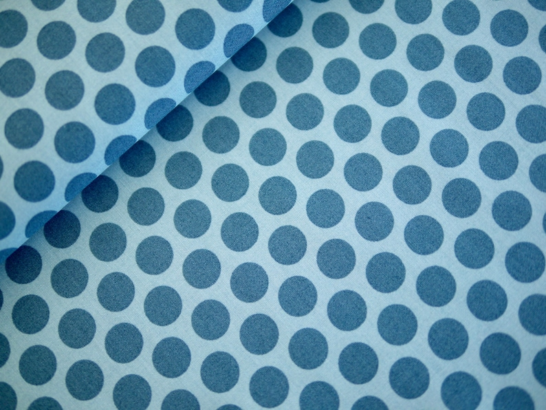 Andover patchwork fabric cotton fabric SOMETHING BLUE combo image 0