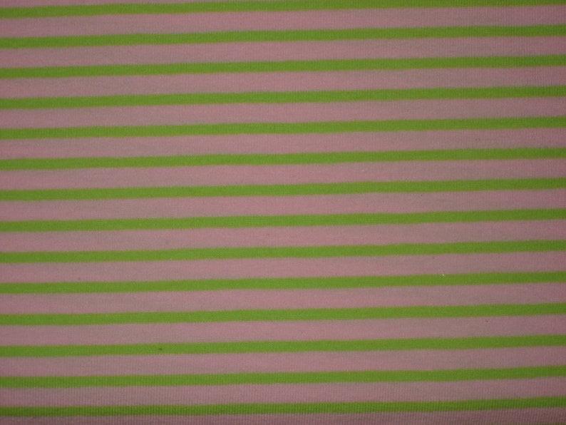 HILCO Campan Ringel Jersey pink-light green image 0