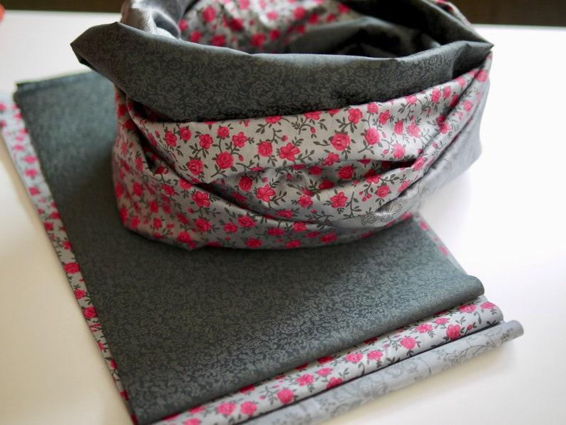 DIY sewing pack sewing kit traction-LOOP hose scarf self image 0