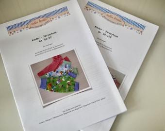Papierschnitt, Schnittmuster Kinderhose, Gr. 56-92 //98-128