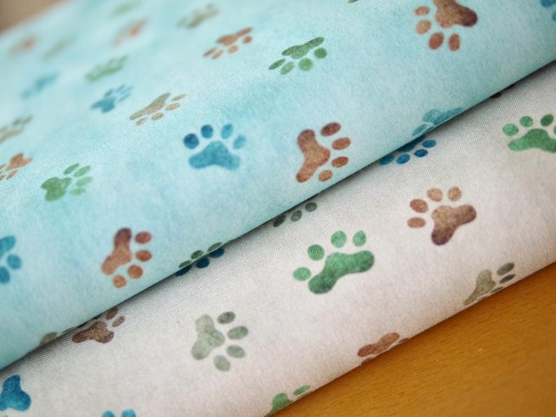 Robert Kaufman patchwork fabric tatts paws puddles 2 image 0