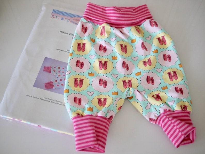 DIY Sewing Bag Baby Pants Self Sewing Jersey Pants image 0