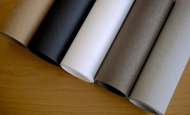 50 x 150 cm roll SNAPPAP creative paper leather look. image 0