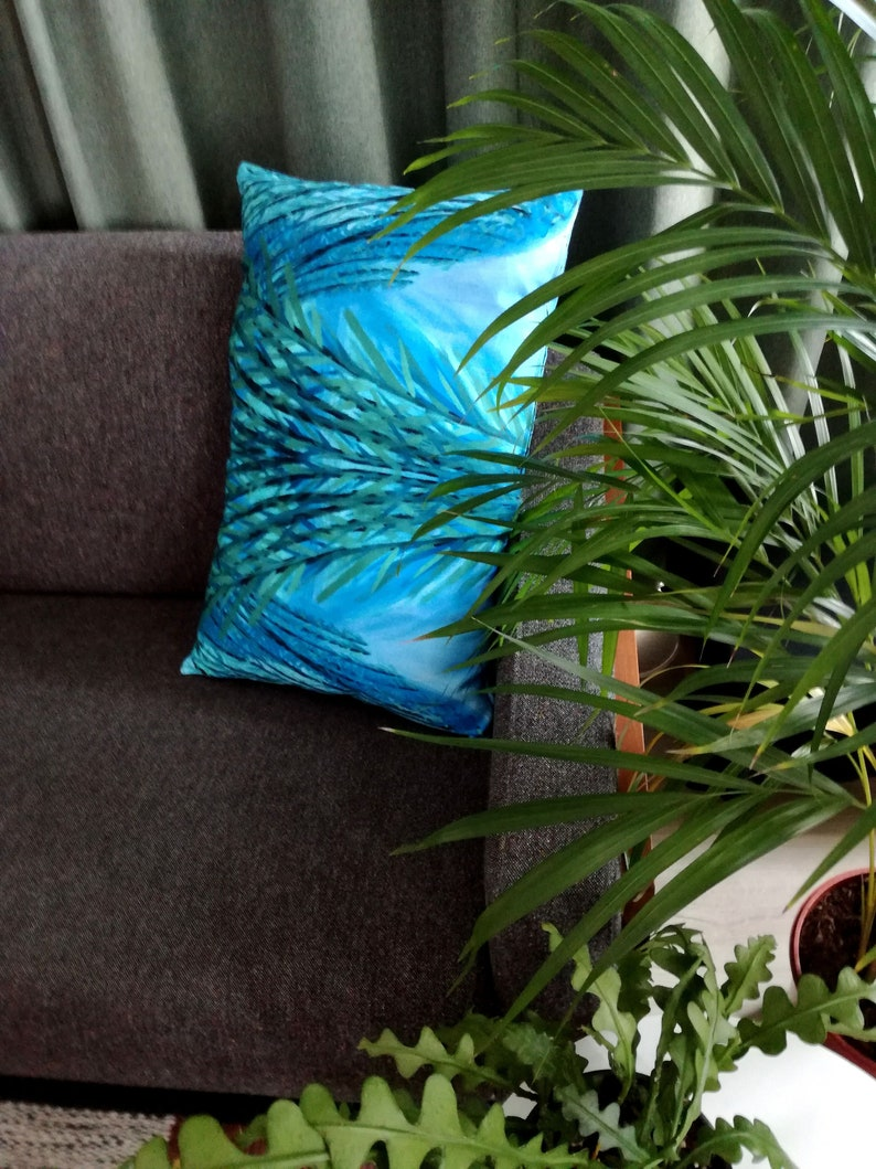 Cushion HortusByNight GIANT BAMBOO cover & cusion 100% satin image 0