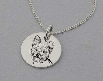Yorkshire Terrier Dog Puppy Guitar Pick Plectrum Necklace Keyring Bracelet  #7