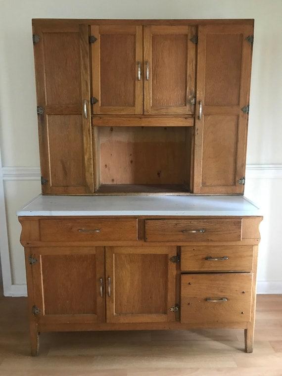 image 0 - Antique Hoosier Cabinet Etsy