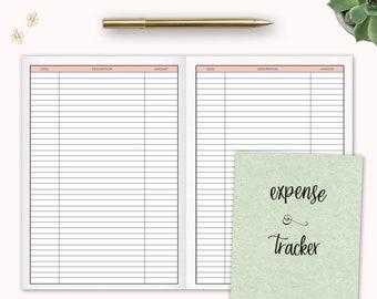 expense tracker etsy