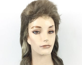DELUXE DOLLY PARTON BLONDE CURLY BIG HAIR PERM COSTUME WIG DRAG COUNTRY