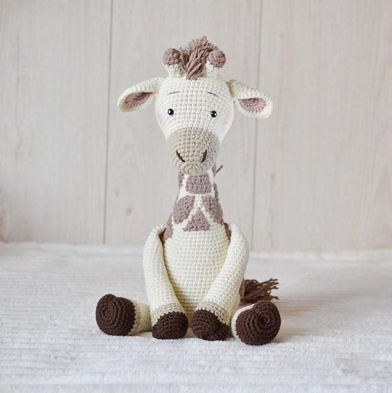 Jirafa Corazon Amigurumi Crochet - $ 350,00 en Mercado Libre | 571x570