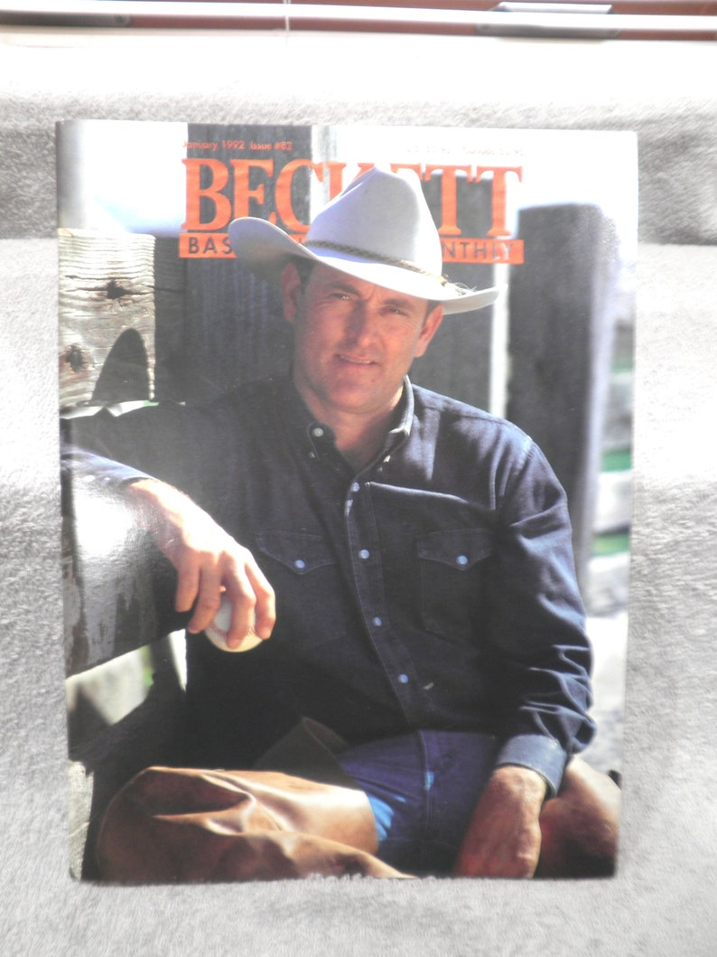 1992 Beckett Monthly Baseball Price Guide - Nolan Ryan