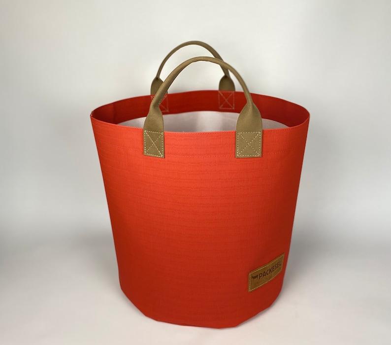 Firewood basket/ Shopping basket/ Laundry basket image 0