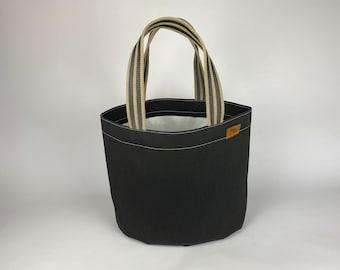Office bag, shoulder bag judo mat black