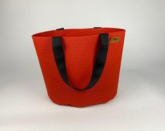 Office bag, shoulder bag judo mat red