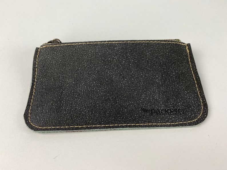 Purse Small luggage velour anthracite image 0