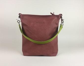 Leather bag rust