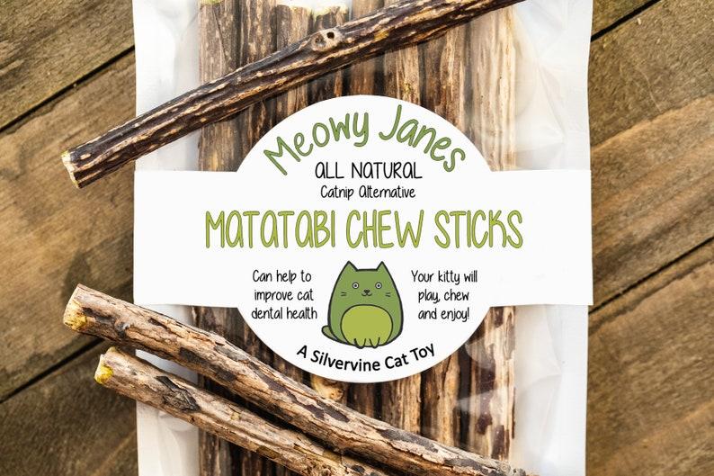 Matatabi Cat Chew Sticks  All Natural Catnip Alternative  image 0
