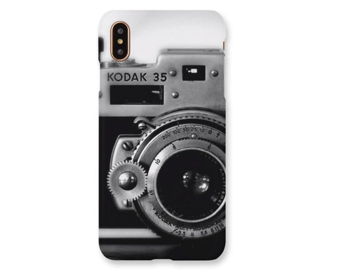Vintage Camera Phone Case, Retro Camera Phone case, Gift For Photographer, Photography Gift, Camera Phone Case, Antique Camera Phone Case