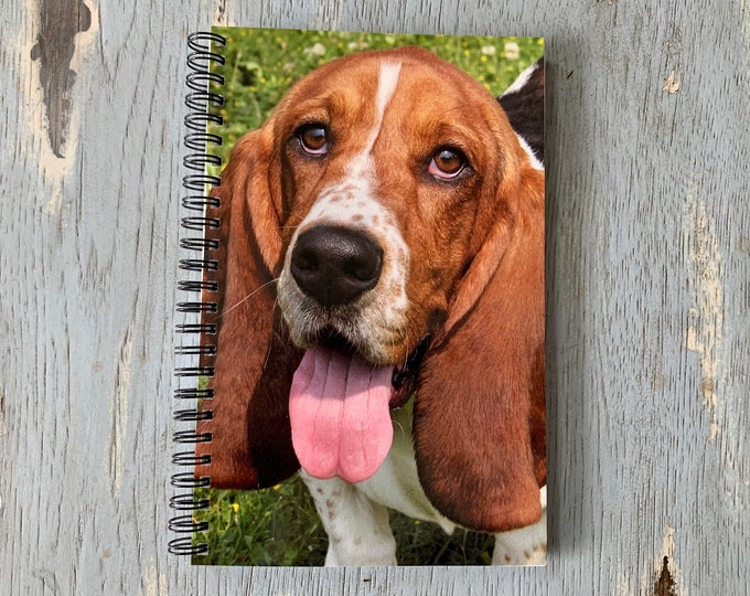 Basset Hound Notebook, Basset Hound, Basset Hound Gifts, Gifts For Dog Lovers, Dog Notebook, Dog, Dog Journal, Dog Gifts, Cute Notebook