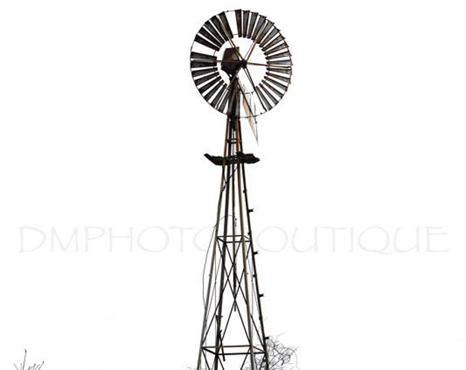 Farmhouse Windmill, Farmhouse Art, Farmhouse Decor,Barn Photography, Barn Print, Farm Print, Barn Photo, Country Decor,Windmill,Rustic Decor