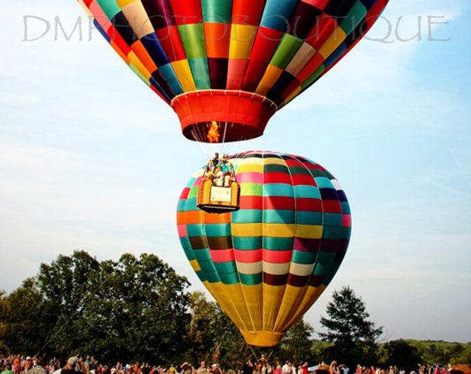 Hot Air Balloon Print, Hot Air Balloon Photo, Hot Air Balloon Canvas, Hot Air Balloon, Hot Air Balloon Wall Art, Hot Air Balloon Decor